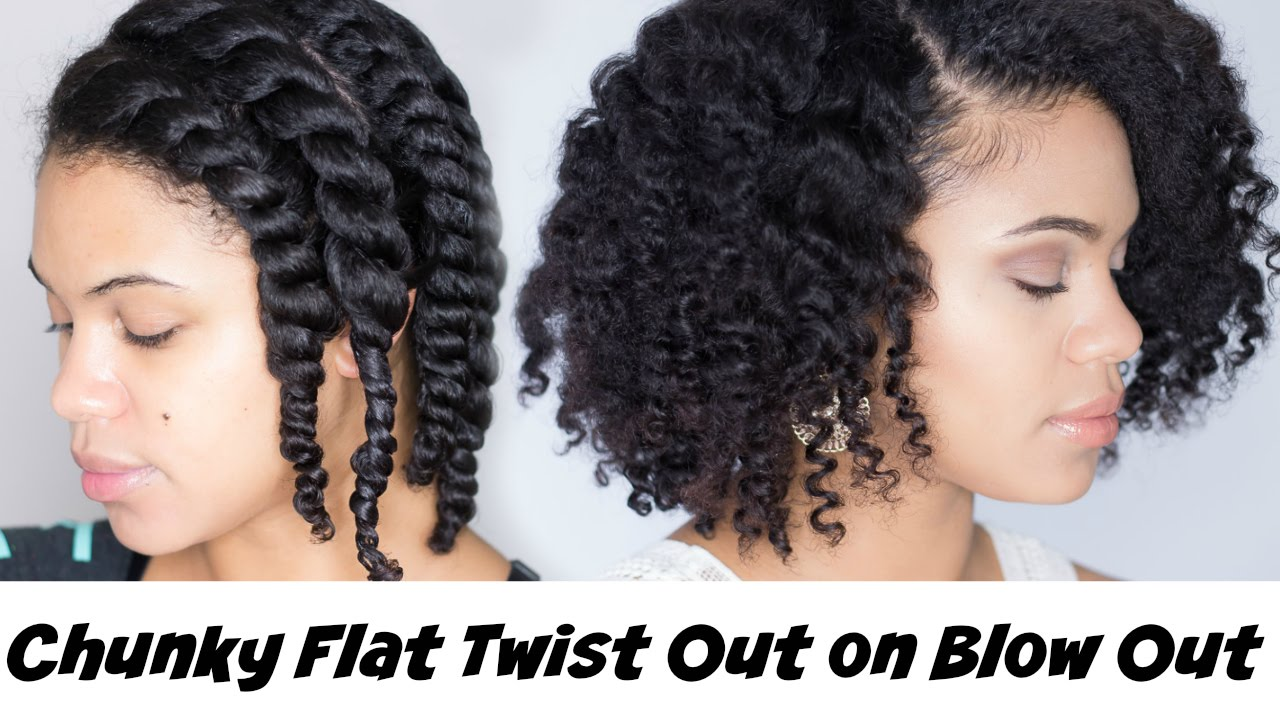 15 Cute & Easy Twist Out Natural Hair Styles