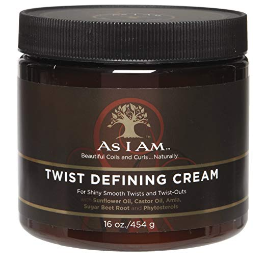 As I Am Twist Defining Cream for two strand twists