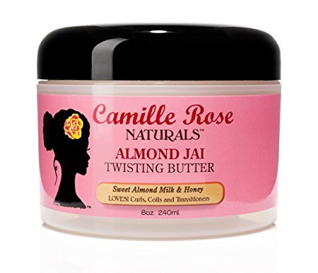 Camille Rose Naturals Almond Jai Twisting Butter for two strand twists