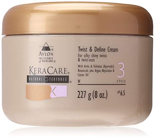 Keracare Natural Textures Twist & Define Cream for two strand twists