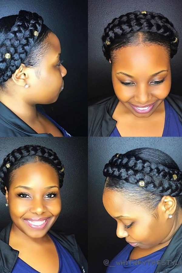 30 Quick Easy Natural Hairstyles Curly Girl Swag