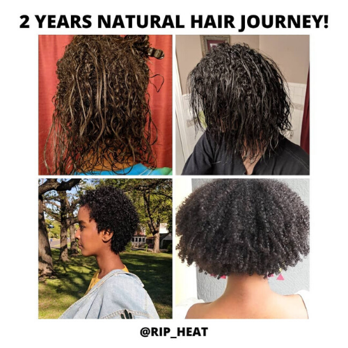 transitioning to natural