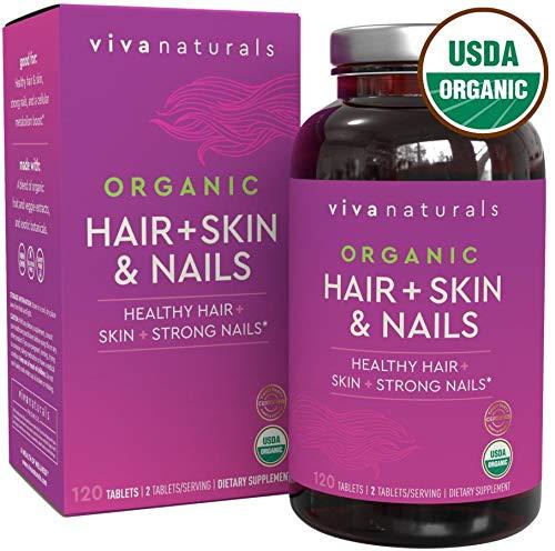 organic hair vitamins