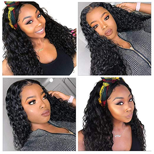 VANLOV Deep Wave Lace Wig