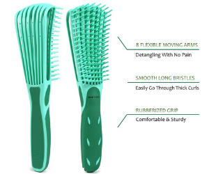 Products For Natural Hair - Detangler-Brush For Curly Hair