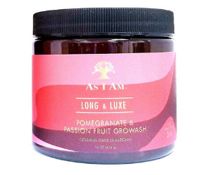 As I Am Pomegranate & Passion Fruit GroWash Cleansing Creme Conditioner