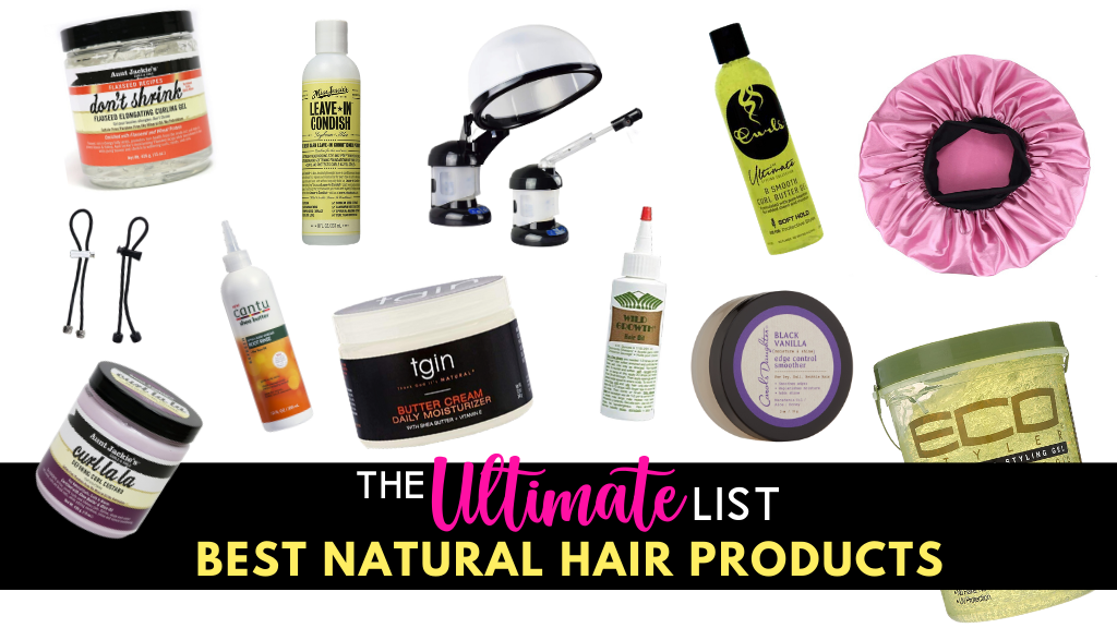 The-ULTIMATE-List-of-Products-For-Natural-Hair-Featured-Image