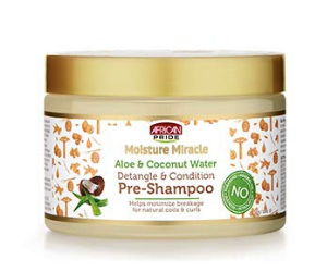 Products For Natural Hair - African Pride Moisture Miracle Aloe & Coconut Water Pre-Shampoo