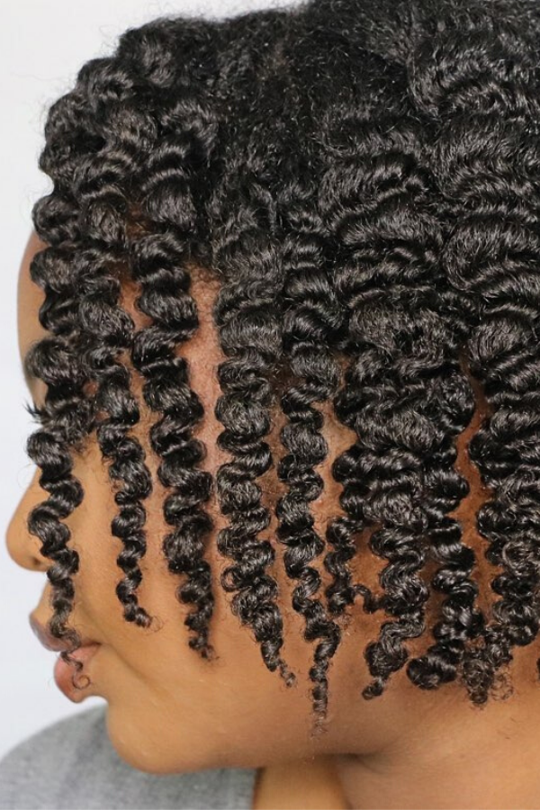 twist out definition