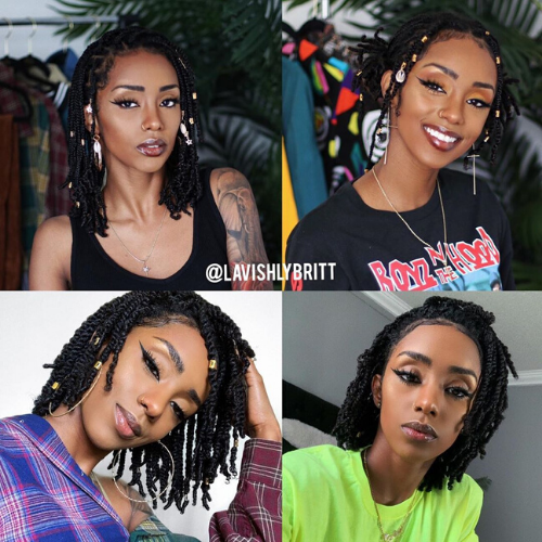 Ultimate Guide To Mini Twists On Natural Hair