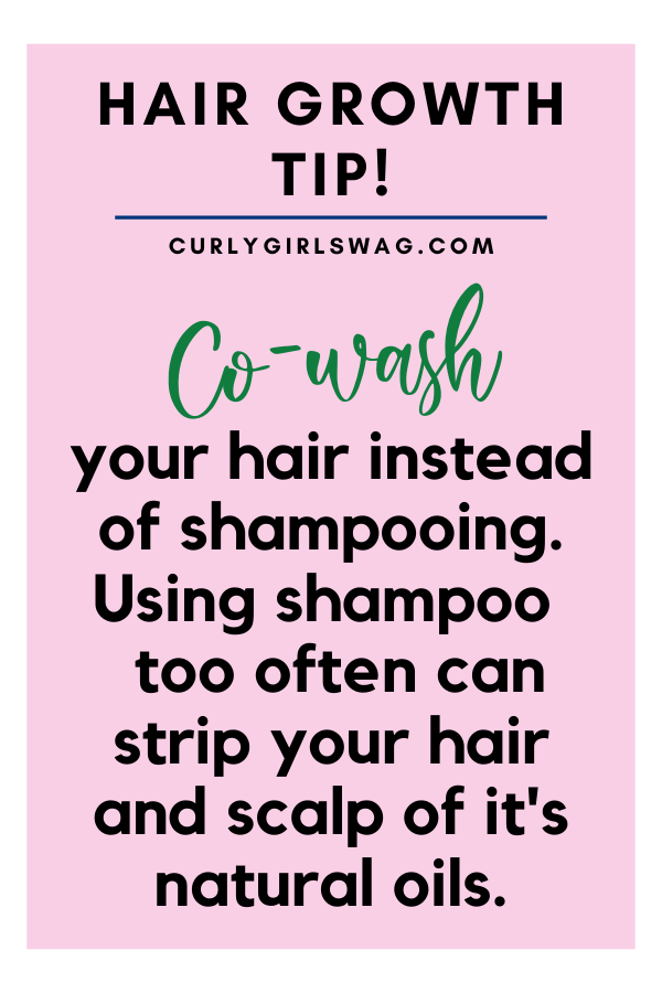 Co-wash your hair instead of shampooing
