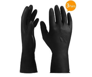 Reusable Professional Rubber Gloves