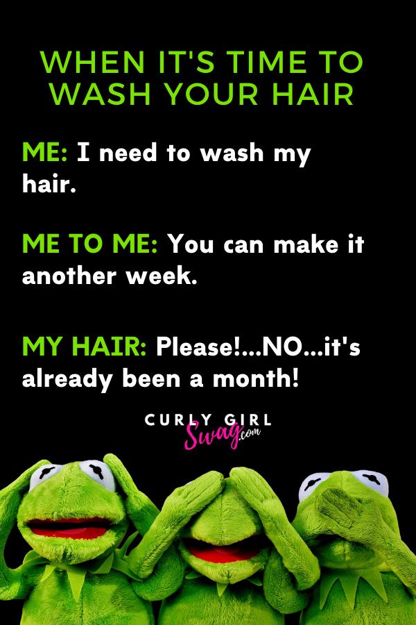 Hair Wash Day Humor