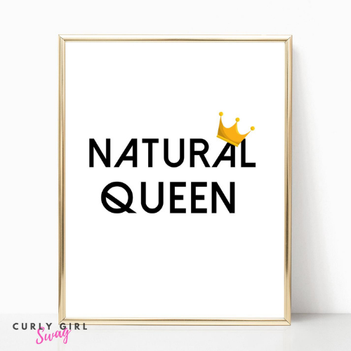 Natural Queen Printable Wall Art